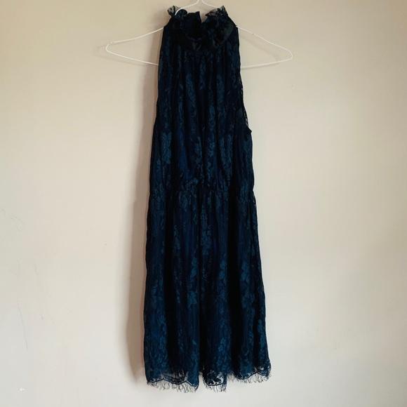 grace and desire Dresses & Skirts - EUC Navy Blue Lace dress size XS Grace and Desire